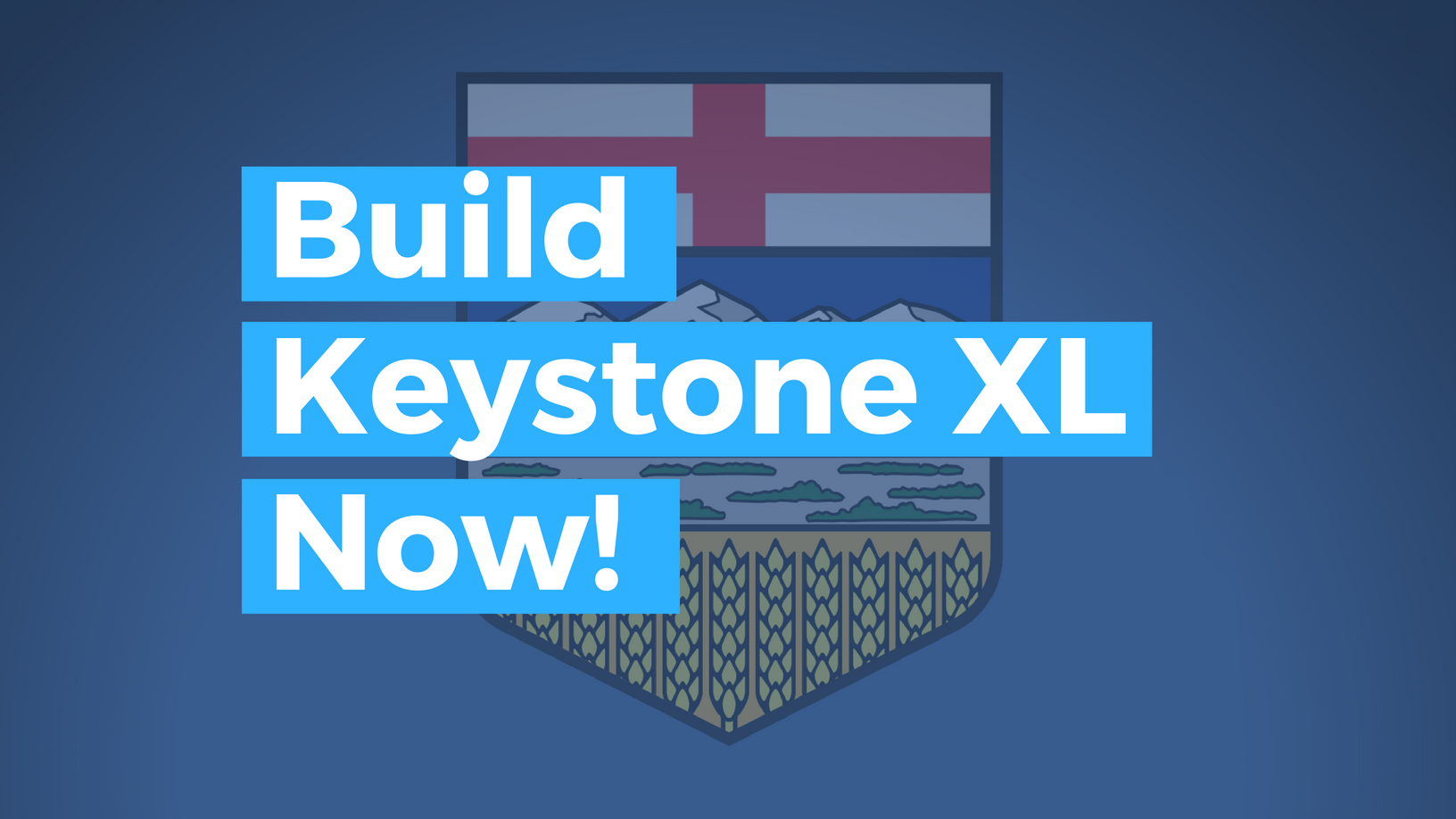 Build KeystoneXL Now!