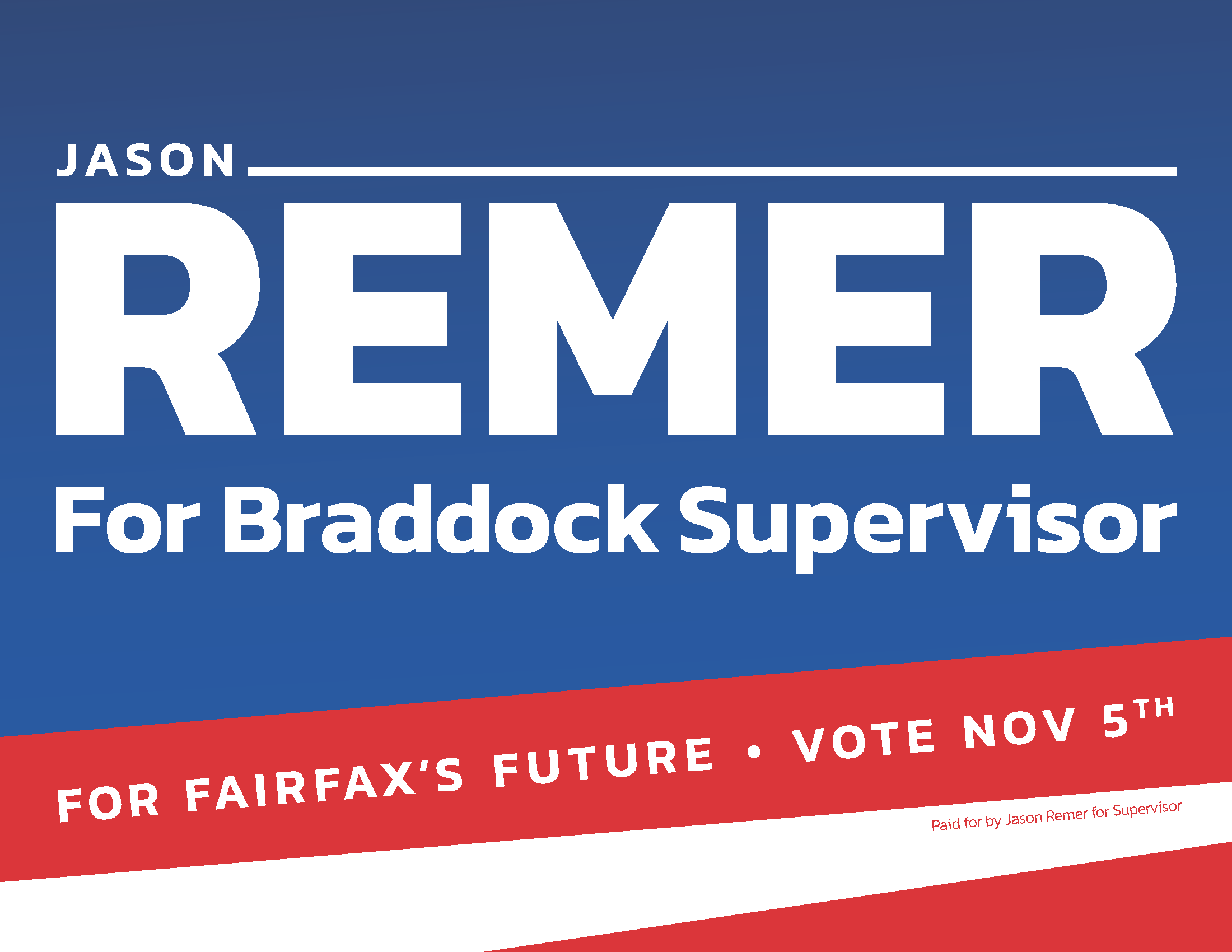 Jason Remer for Braddock Supervisor
