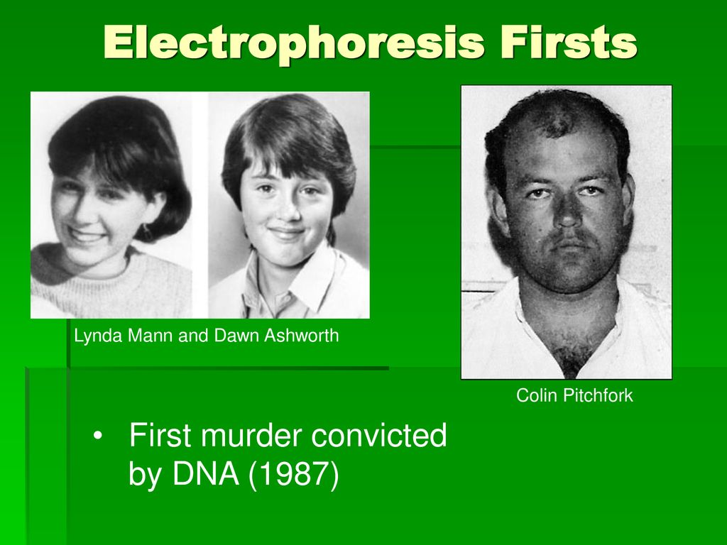 Electrophoresis Firsts
