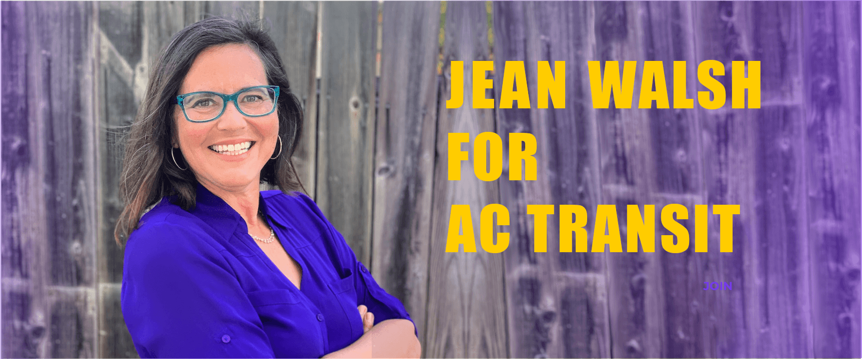 Jean Walsh for AC Transit