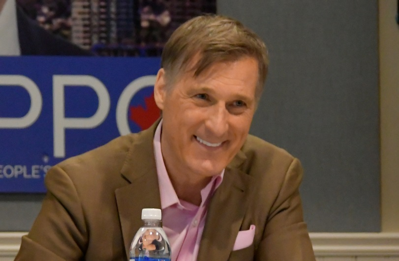 Maxime Bernier. Photo credit https://www.lucidtimes.ca/