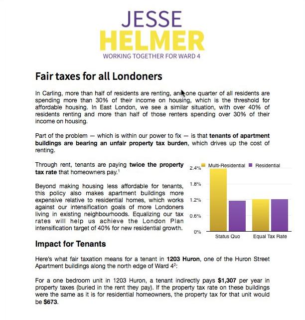 Fair Taxes Policy Brief