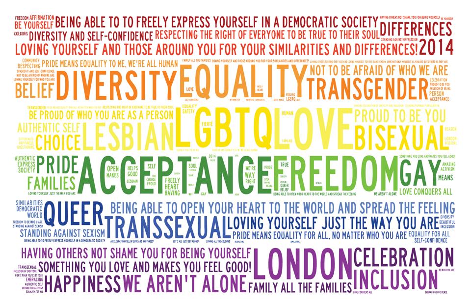 Crowdsourced Pride Flag