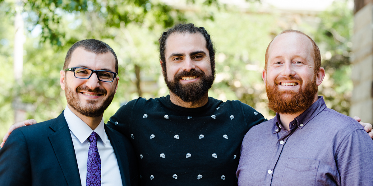Mohammed Missouri, Nadeem Mazen, and Shaun Kennedy