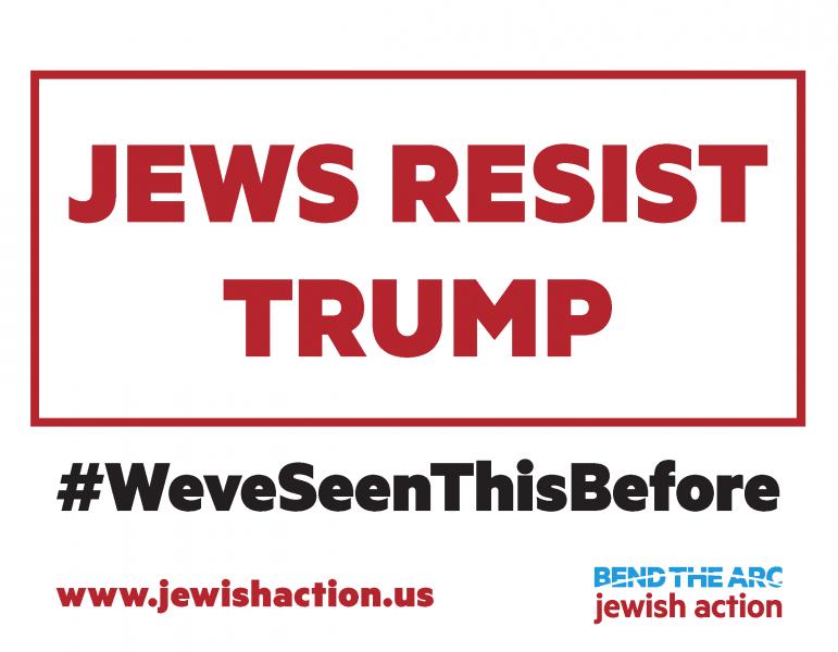 jews resist trump
