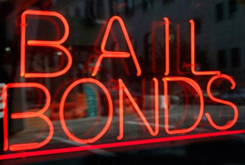 Bail bonds sign