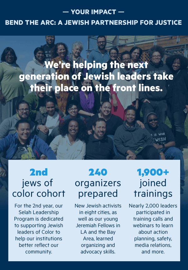 We're helping the next generation of Jewish leaders take their place on the front lines.