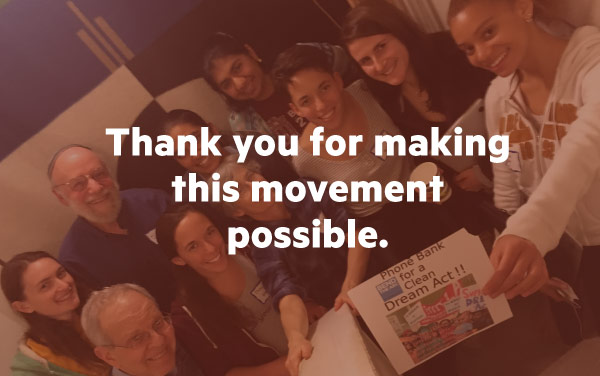 Thank you for making this movement possible.