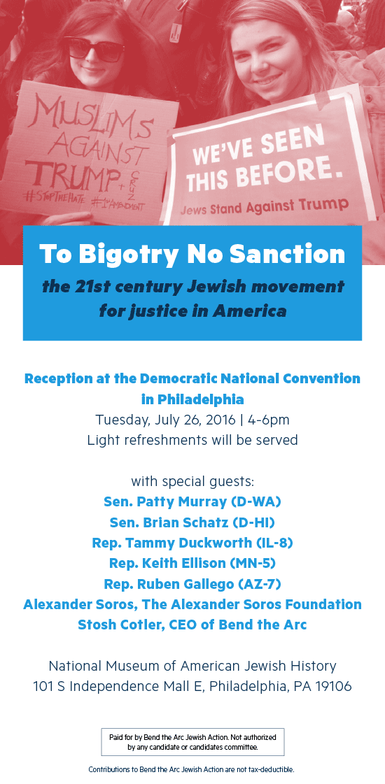 To Bigotry No Sanction