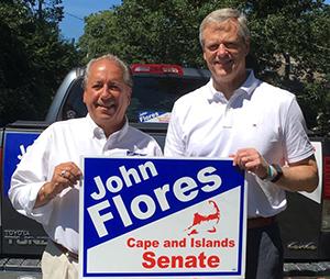 Charlie Baker Endorses John Flores for State Senate
