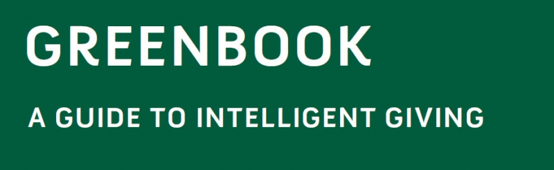 Greenbook: A Guide to Intelligent Giving