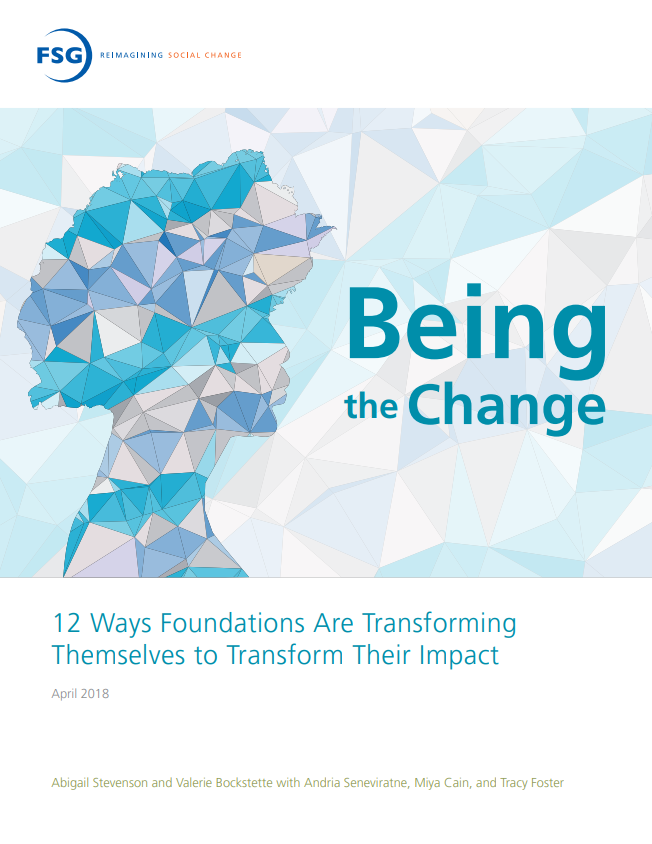 Being the Change report