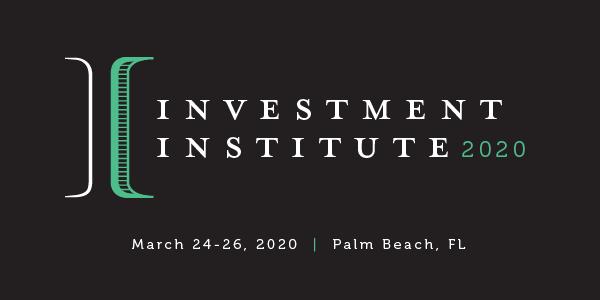 Investment Institute 2020