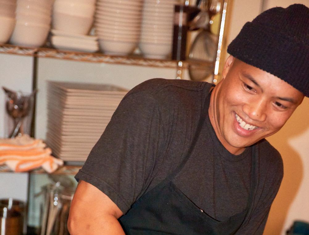 Chef Eugene Santiago Returns!