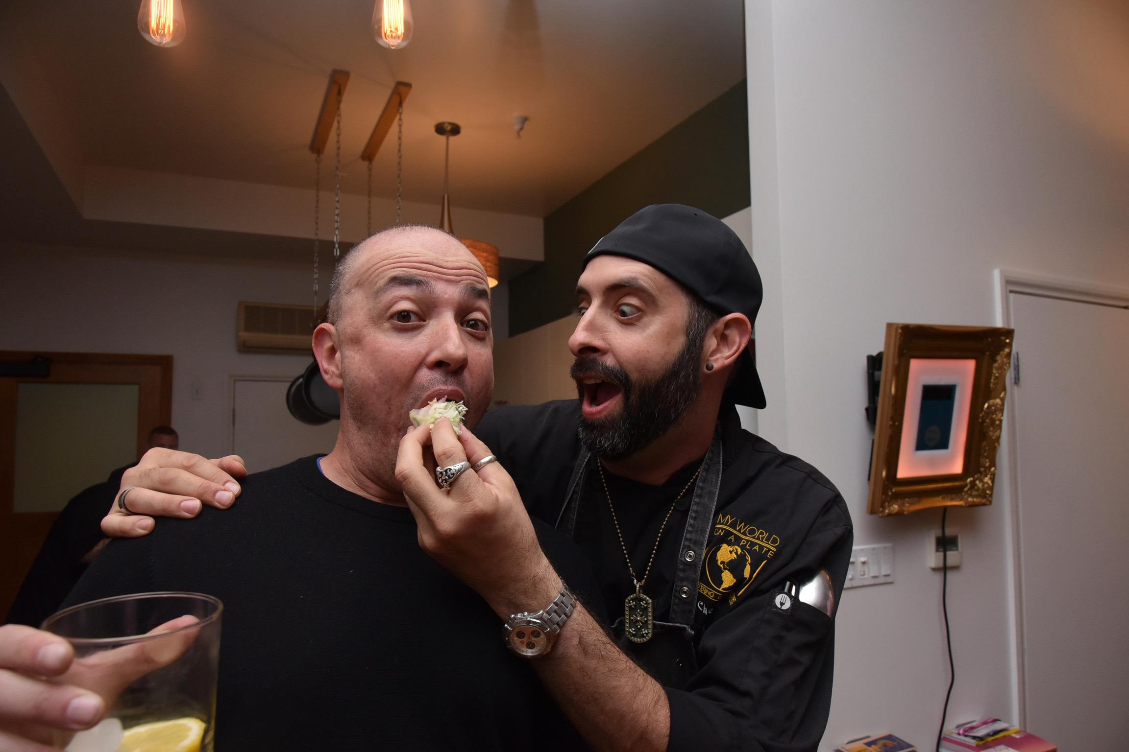 Chefs Keven Lee & Arturo Quesada, Featuring Carolina Gonzalez