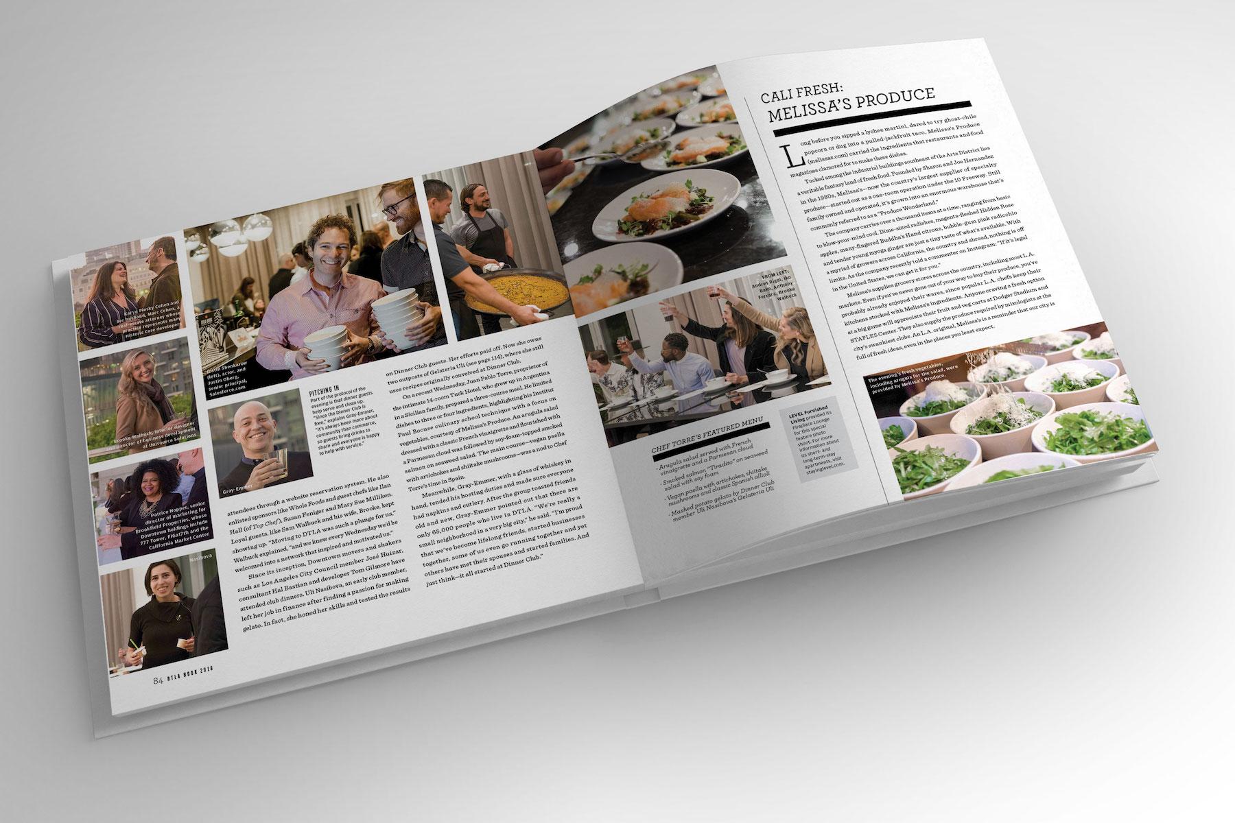 DTLA Dinner Club Book
