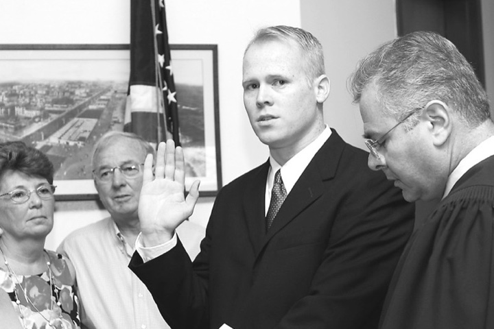 Keady sworn in as Asbury Park Councilman
