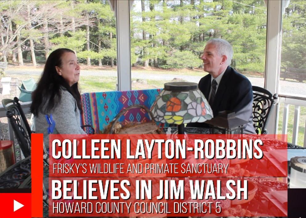 Colleen Layton-Robbins Believes in Jim Walsh4HoCo District 5