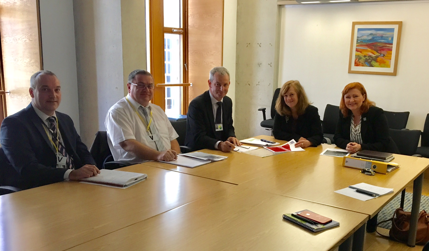 Joan_and_Emma_with_(L-R)_Graeme_McQuaker_Phil_Hichliffe_and_Hugh_Gillies_of_Transport_Scotland.jpg