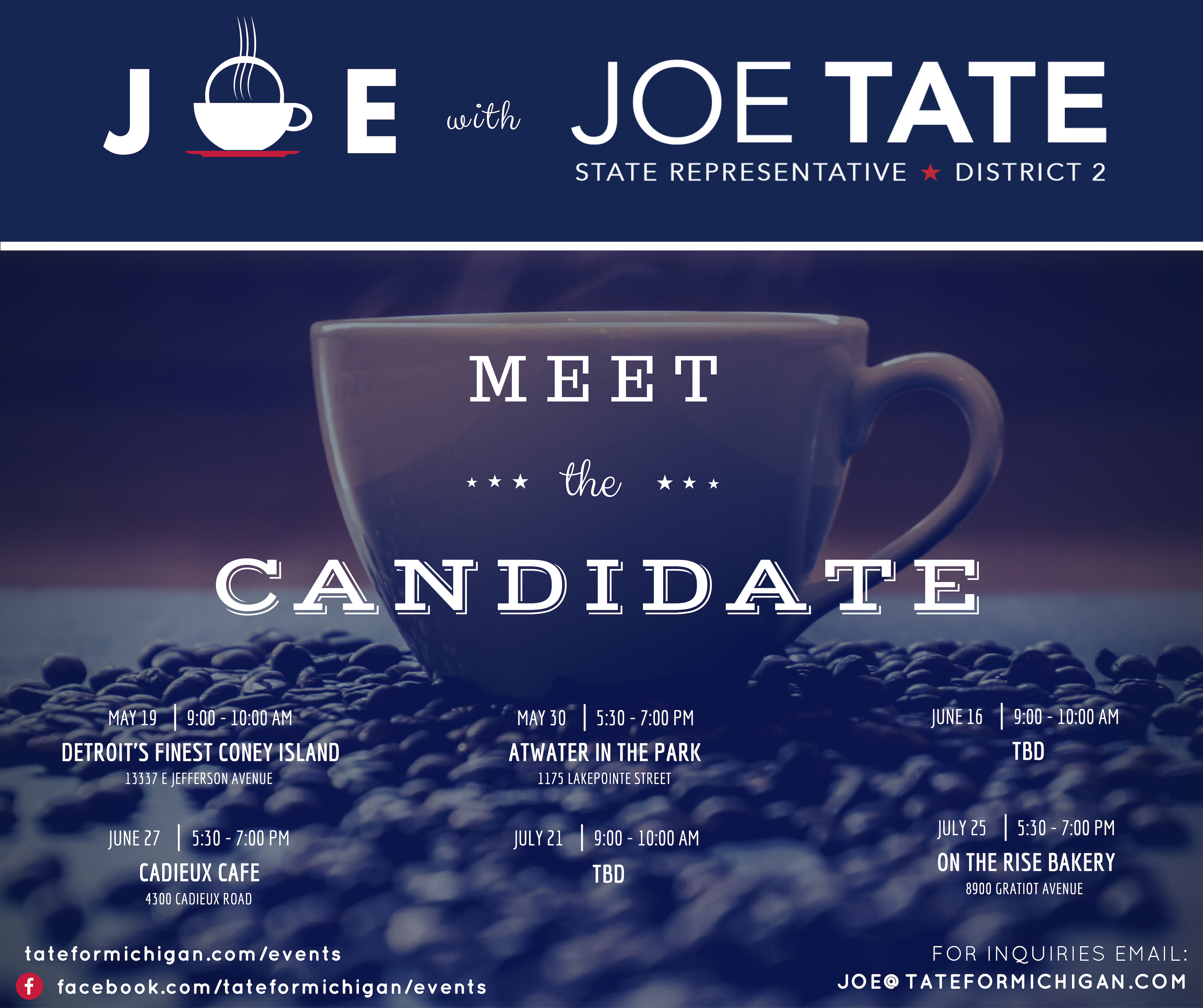 Grosse Pointe Park Meet And Greet Joe Tate For State Rep