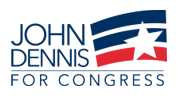 John Dennis for Congress, San Francisco, District 12