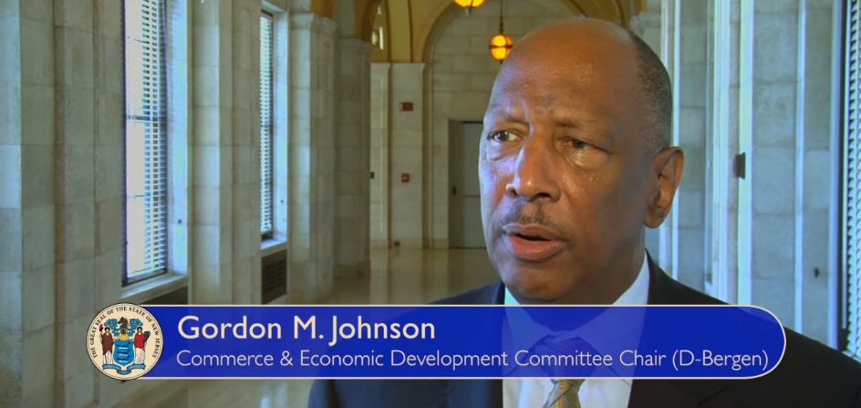 Gordon M. Johnson, Chair of Commerce and Economic Development Committee
