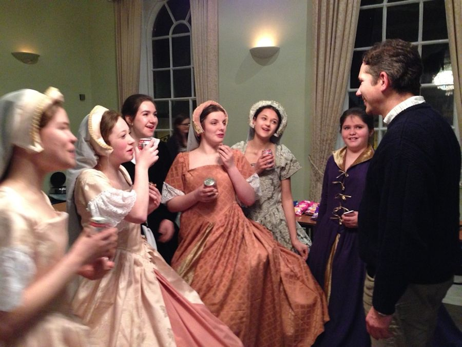 Jonathan attends Huntingdon Youth Theatre's production of The Witches of Warboys