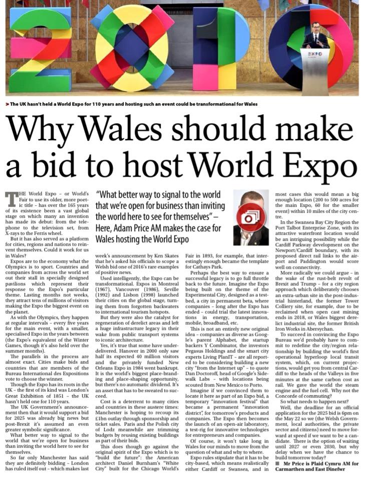 Western Mail 6 Dec 2016