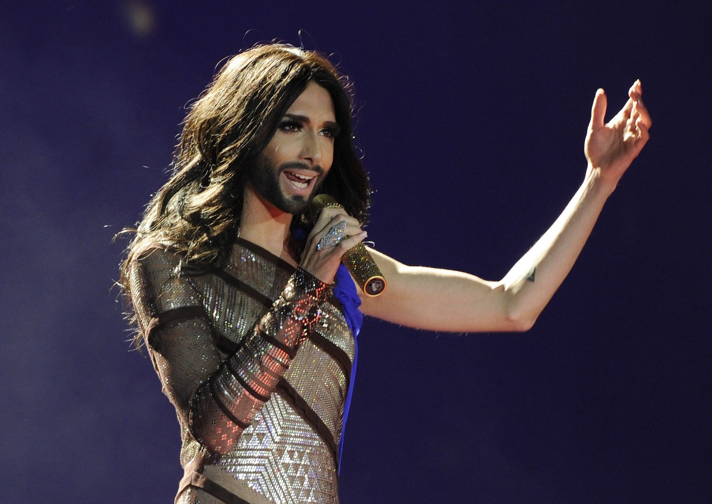 "Conchita's message is ""It's not about appearances; it's about the human being. Everybody should live their lifes however they want, as long as nobody else gets hurt or is restricted in their own way of life.""