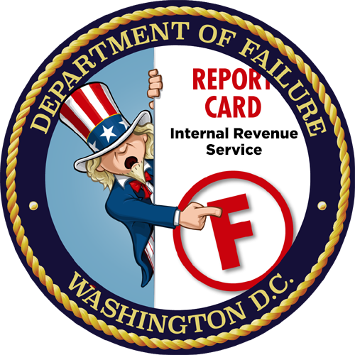 Department of Failure IRS