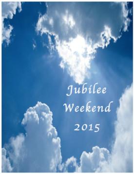 Jubilee USA: Jubilee Weekend 2015