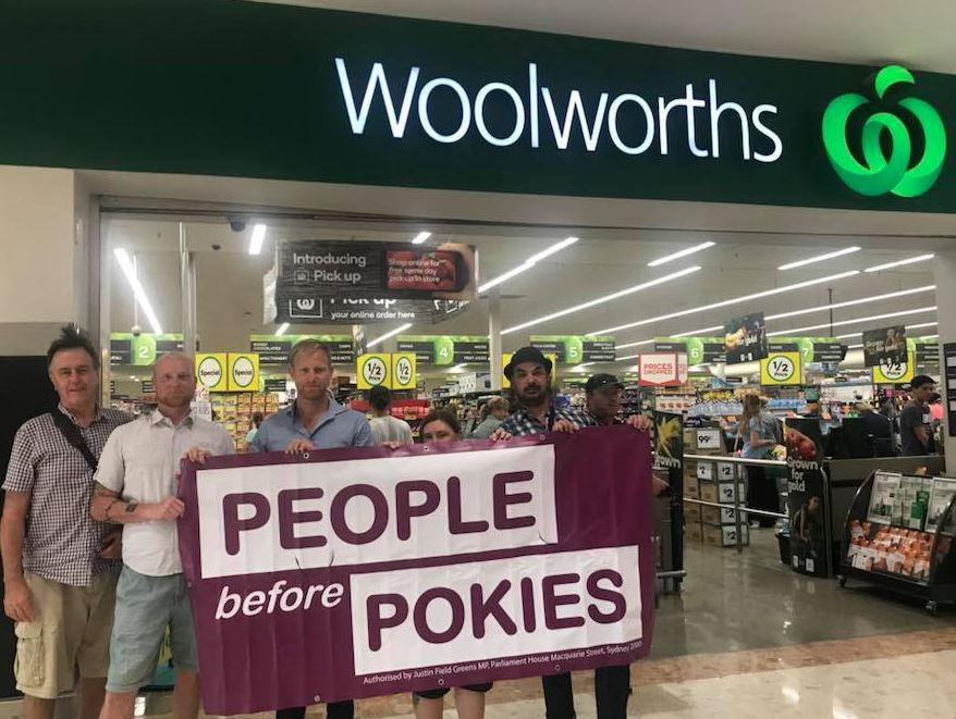 Greens call on Gaming Authority to immediately suspend Woolworths' pokies licences following internal report findings - Justin Field