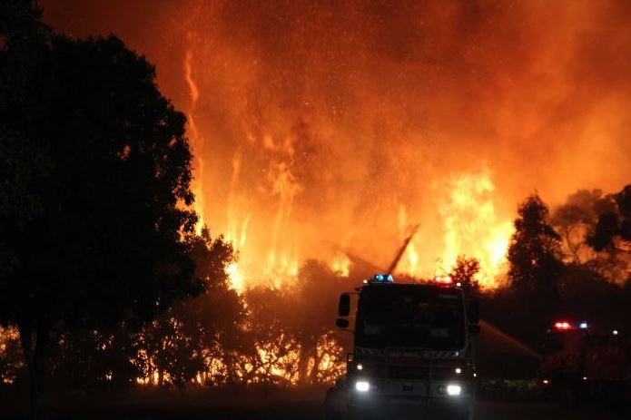 Sth Coast fires a reminder of increased severity and frequency of natural disasters under climate change