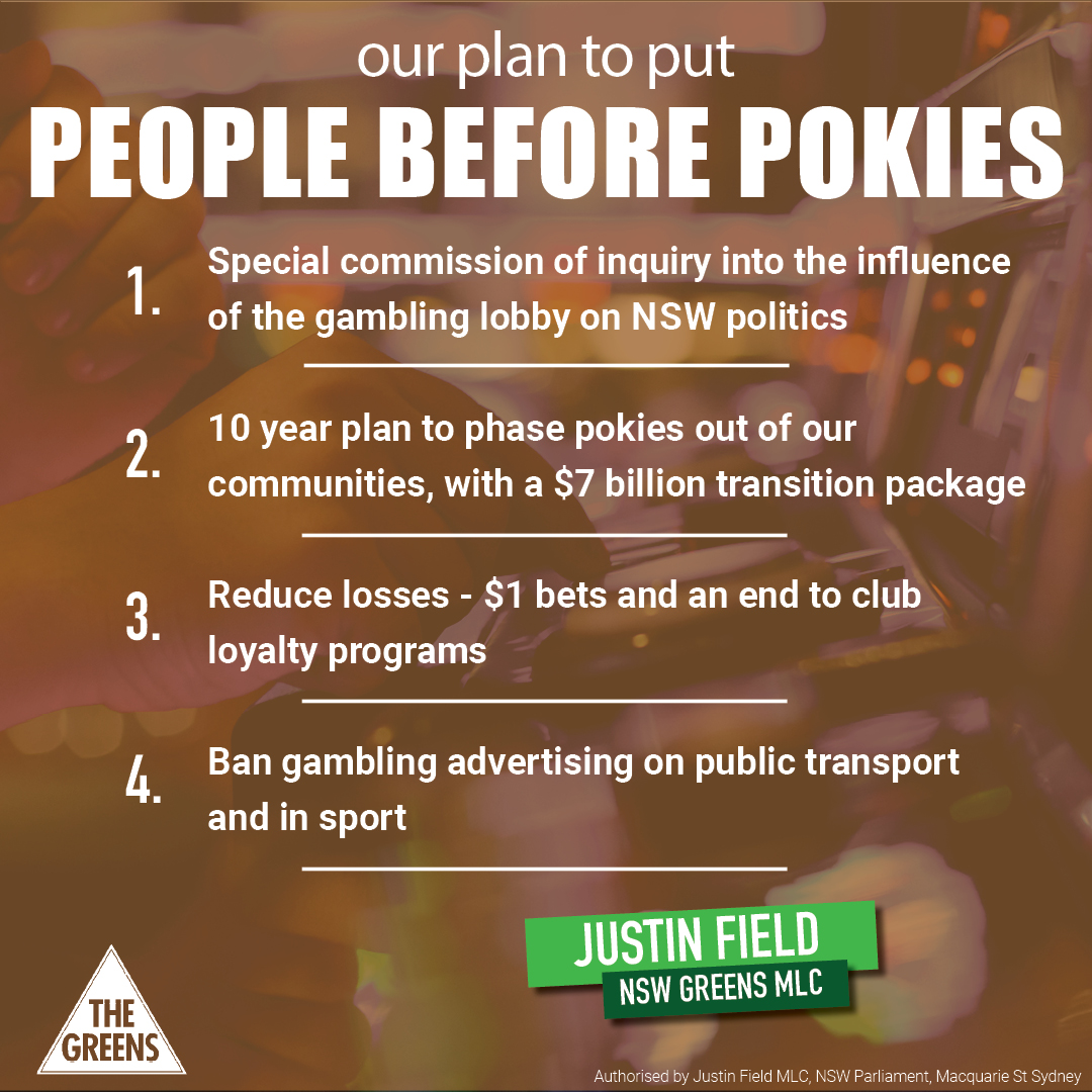 NSW Coalition and Labor must end gambling conflict of interest