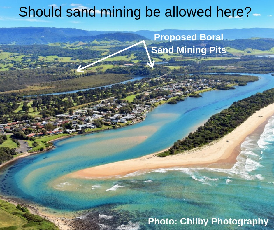 South Coast Independent MP backs community opposition to Minnamurra sand mining proposal