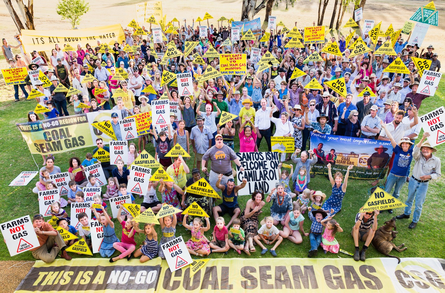 NSW Nationals fail to stand up for water and regional communities in their support for coal seam gas