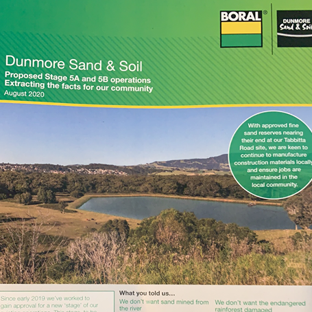 "Dunmore sand mine referral to Planning Commission will not deter community who ""Say NO to Boral"""