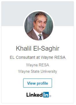 LinkedIn Profile Khalil El-Saghir