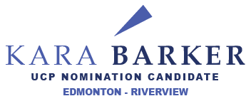 Kara Barker for Edmonton-Riverview