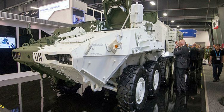 General Dynamics Lans Systems' light armoured vehicles