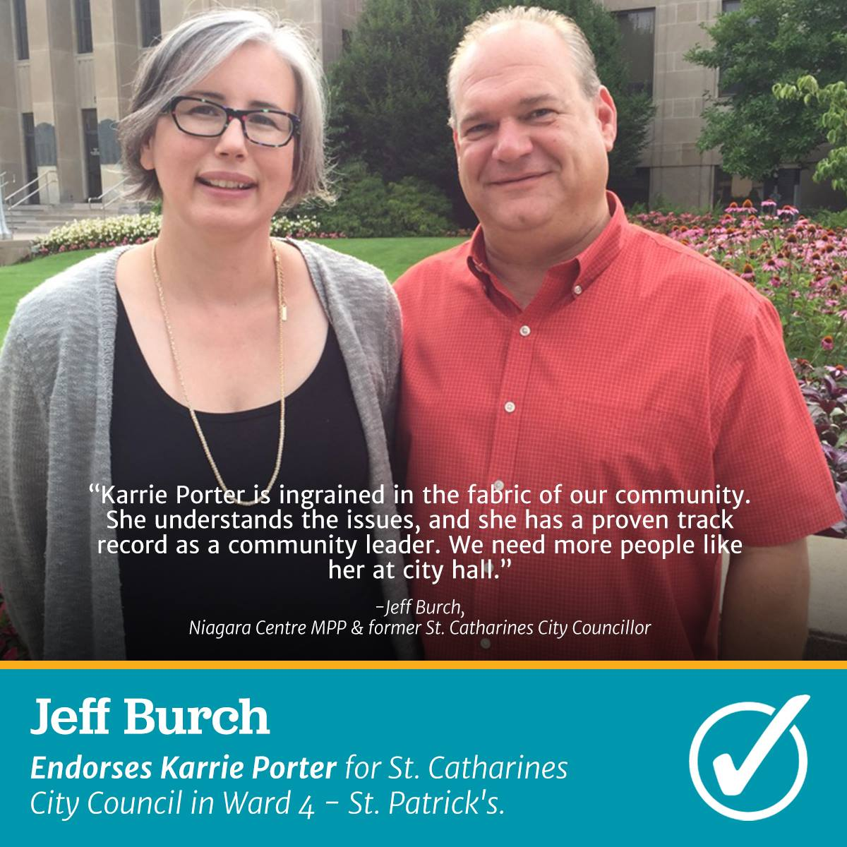 Karrie and Jeff Burch