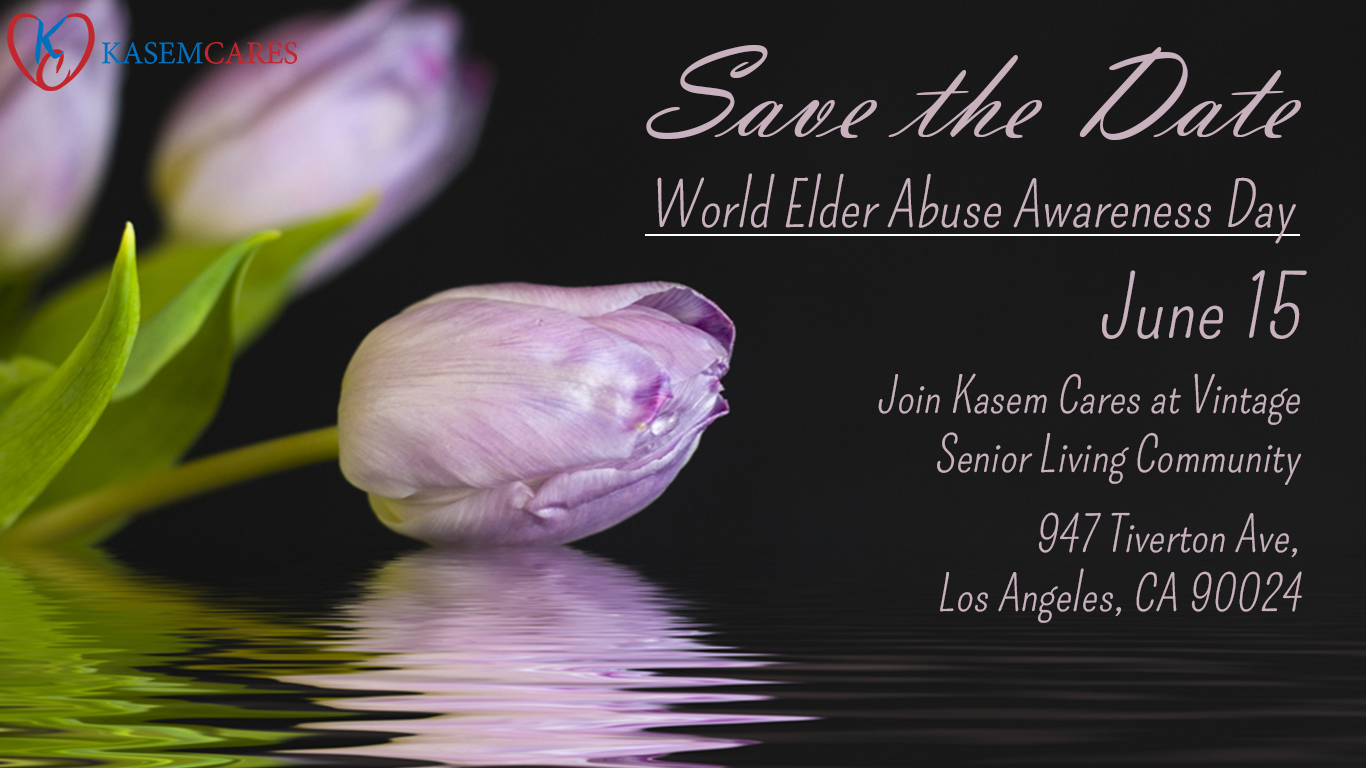 World Elder Abuse Day Kasem Cares