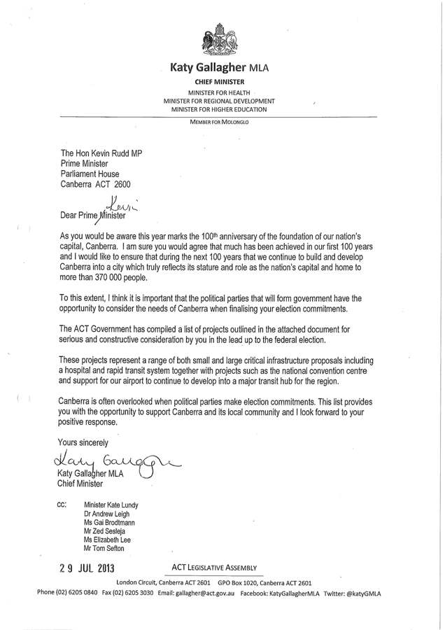 CM letter to PM and TA re fed commitments_Page_1 resized