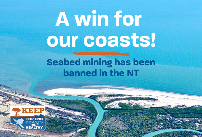 Seabed mining banned in the NT