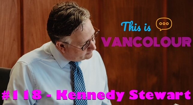 Listen: Kennedy returns to This is Vancolour podcast