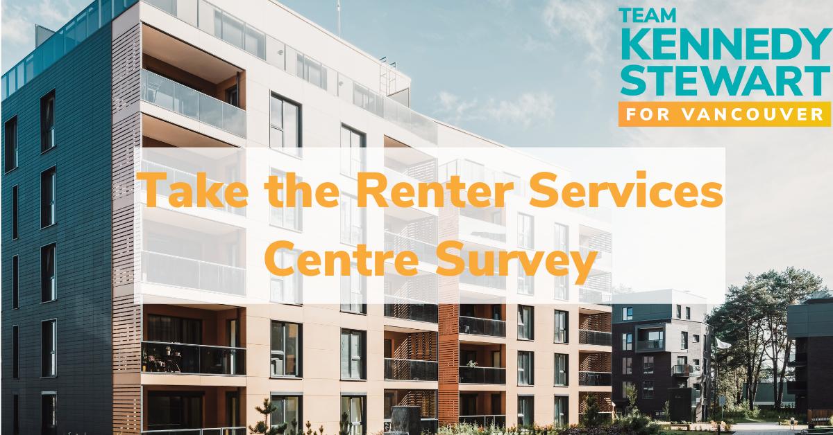 Help shape the new Renter Services Centre