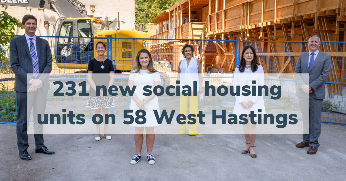 Breaking: New Major Social Housing Project in Vancouver