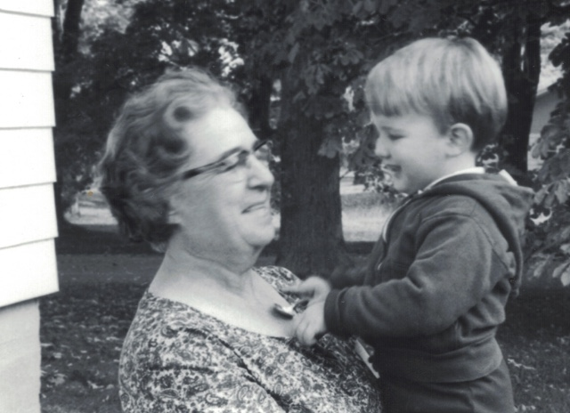 Kennedy with his Grandma