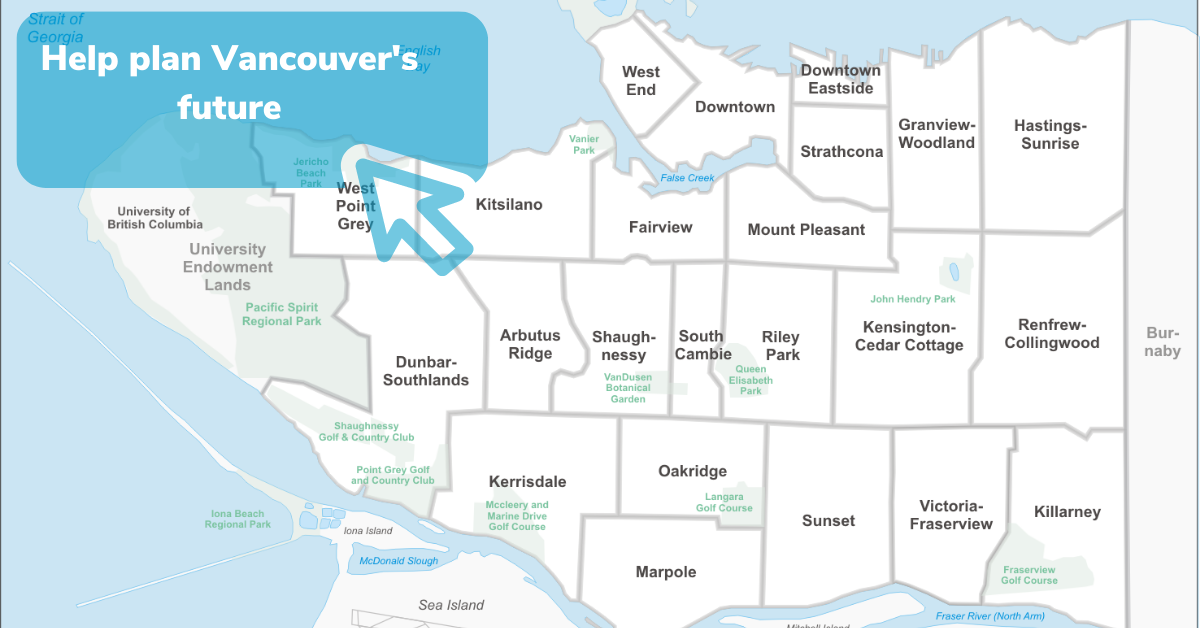 Make your voice heard on Vancouver's plan for the future