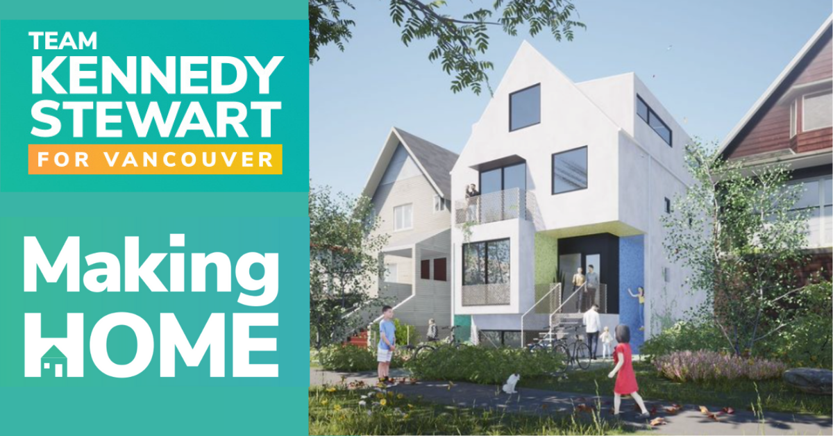 Mayor Stewart announces Making Home: a housing, economic, and climate plan for all of us